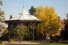 φθινόπωρο bandstand Στοκ εικόνες με δικαίωμα ελεύθερης χρήσης