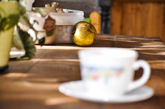 Φθινόπωρο coffe Στοκ Εικόνες
