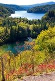 Φθινόπωρο Plitvice Στοκ Εικόνες