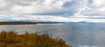 Φθινόπωρο tundra Στοκ Εικόνα