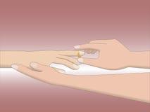 Φθορά δαχτυλιδιών Στοκ φωτογραφίες με δικαίωμα ελεύθερης χρήσης