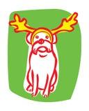 φθορά τεριέ ταράνδων συνόρω& Στοκ εικόνες με δικαίωμα ελεύθερης χρήσης