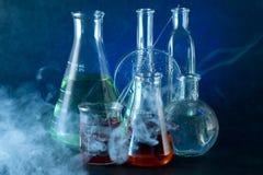 Φιάλη χημείας στοκ εικόνες