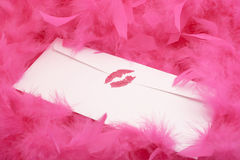 φιλί που σφραγίζεται Στοκ Εικόνα