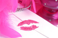 φιλί που σφραγίζεται Στοκ Εικόνες