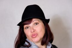 φιλί φθινοπώρου Στοκ Φωτογραφίες