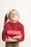 φιλί Χριστουγέννων στοκ φωτογραφίες