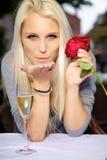 Φιλί χτυπήματος Στοκ Φωτογραφίες