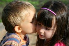 φιλί Στοκ Φωτογραφία