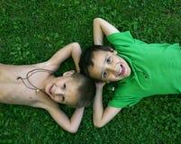 φιλαράκοι δύο στοκ φωτογραφία με δικαίωμα ελεύθερης χρήσης