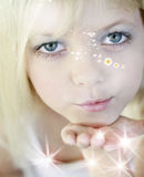 φιλιά νεράιδων Στοκ φωτογραφία με δικαίωμα ελεύθερης χρήσης