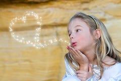 φιλιά νεράιδων Στοκ εικόνα με δικαίωμα ελεύθερης χρήσης