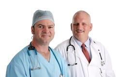 φιλική ιατρική ομάδα Στοκ εικόνες με δικαίωμα ελεύθερης χρήσης