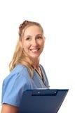 φιλική νοσοκόμα γιατρών Στοκ Εικόνες