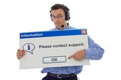 φιλική υποστήριξη προσωπικού στοκ φωτογραφίες με δικαίωμα ελεύθερης χρήσης