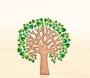 Φιλικό δέντρο Eco στοκ φωτογραφίες με δικαίωμα ελεύθερης χρήσης