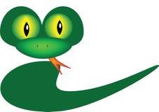 φιλικό να φανεί φίδι Στοκ Εικόνες