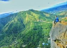 Φιλιππινέζικα βουνά Στοκ εικόνα με δικαίωμα ελεύθερης χρήσης