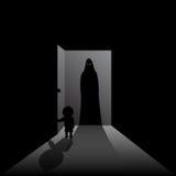 φιλοξενούμενος scary Στοκ φωτογραφία με δικαίωμα ελεύθερης χρήσης