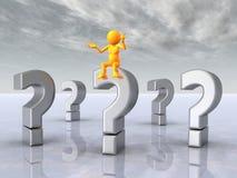 φιλόσοφος ερώτησης σημα&d ελεύθερη απεικόνιση δικαιώματος