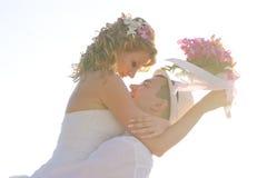 Φιλώντας ζεύγος στοκ φωτογραφία με δικαίωμα ελεύθερης χρήσης