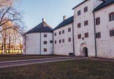 Φινλανδία Τουρκού, το Castel Τουρκού από το 13ο αιώνα σε ένα βράδυ άνοιξη στοκ εικόνα με δικαίωμα ελεύθερης χρήσης