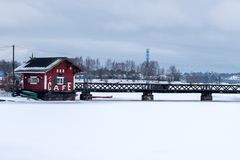 Φινλανδία το χειμώνα στοκ εικόνες