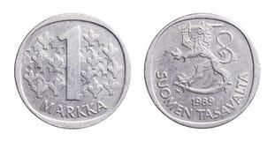 Φινλανδικό Markka Στοκ φωτογραφίες με δικαίωμα ελεύθερης χρήσης