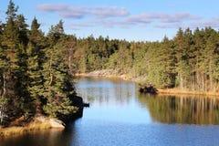 Φινλανδία: Γενικές τοπίο και λίμνη στοκ εικόνες με δικαίωμα ελεύθερης χρήσης
