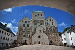 Φινλανδία Τουρκού Castle στοκ εικόνες