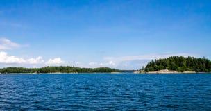 Φινλανδικό αρχιπέλαγος Στοκ Εικόνα