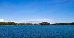 Φινλανδικό αρχιπέλαγος Στοκ εικόνες με δικαίωμα ελεύθερης χρήσης