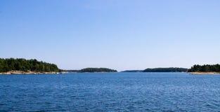 Φινλανδικό αρχιπέλαγος Στοκ Φωτογραφίες