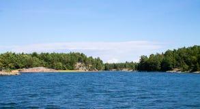 Φινλανδικό αρχιπέλαγος Στοκ εικόνα με δικαίωμα ελεύθερης χρήσης