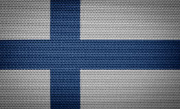 Φινλανδικό ύφασμα Στοκ εικόνα με δικαίωμα ελεύθερης χρήσης