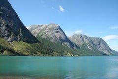 φιορδ νορβηγικά Στοκ Φωτογραφία