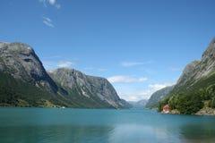 φιορδ νορβηγικά Στοκ εικόνα με δικαίωμα ελεύθερης χρήσης