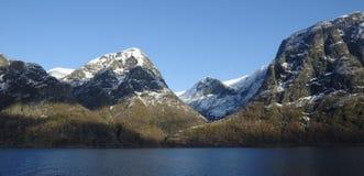 φιορδ νορβηγικά Στοκ φωτογραφίες με δικαίωμα ελεύθερης χρήσης