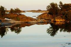 Φιορδ σε Stangnes, Νορβηγία Στοκ φωτογραφία με δικαίωμα ελεύθερης χρήσης