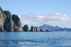 Φιορδ Kenai, Αλάσκα, ΗΠΑ Στοκ εικόνες με δικαίωμα ελεύθερης χρήσης
