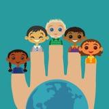 Φιλία παιδιών Στοκ εικόνα με δικαίωμα ελεύθερης χρήσης