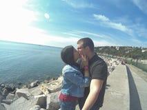 Φιλί ουρανού Στοκ εικόνες με δικαίωμα ελεύθερης χρήσης