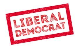 Φιλελεύθερη σφραγίδα δημοκρατών Στοκ Εικόνες