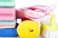 Φιλικοί προς το περιβάλλον φυσικοί καθαριστές, καθαρίζοντας προϊόντα Σπιτικός πράσινος καθαρισμός στο άσπρο υπόβαθρο Στοκ φωτογραφία με δικαίωμα ελεύθερης χρήσης