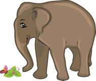 Φιλικός ελέφαντας Στοκ φωτογραφίες με δικαίωμα ελεύθερης χρήσης