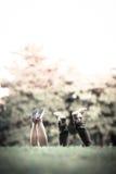 Φιλικό ζεύγος παπουτσιών Στοκ φωτογραφία με δικαίωμα ελεύθερης χρήσης