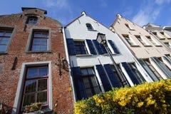 Φλαμανδικά σπίτια Στοκ φωτογραφίες με δικαίωμα ελεύθερης χρήσης