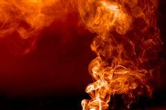 Φλεμένος καπνός Στοκ Εικόνες