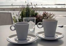 Φλιτζάνια του καφέ Στοκ φωτογραφίες με δικαίωμα ελεύθερης χρήσης