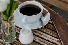 Φλιτζάνι του καφέ χωρίς γάλα στοκ φωτογραφίες με δικαίωμα ελεύθερης χρήσης